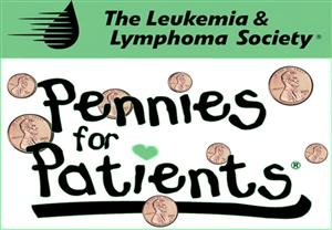 Pennies for Patients Button