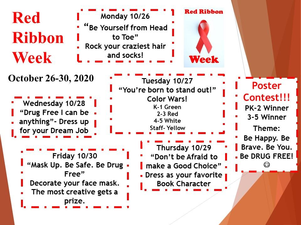 Red Ribbon Week is coming up!