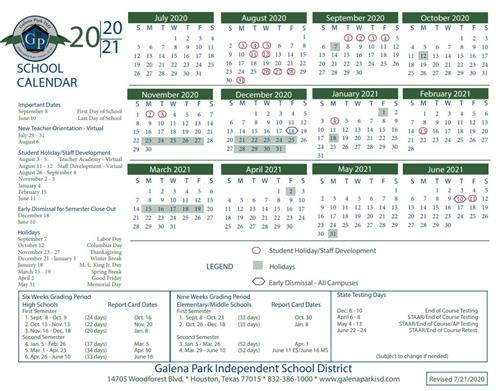 Gpisd Calendar 2021-22 Wallpaper