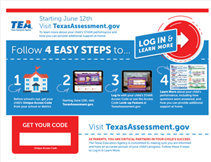 Texas Assessment Portal Flyer 2019 English