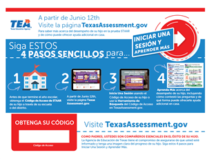 Texas Assessment Portal Flyer 2019 Spanish