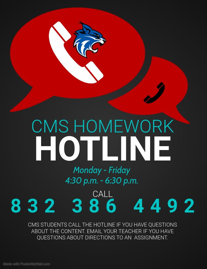 CMS Homework Hotline