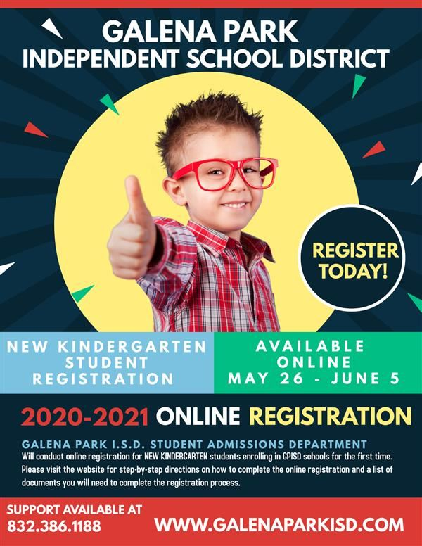 New Kindergarten Registration