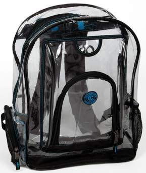 Clear backpack image