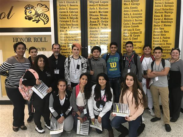 NAC Students Transition Trip to GPHS