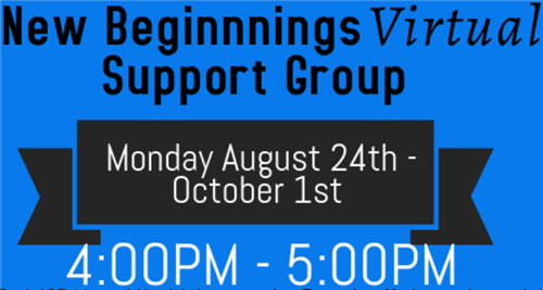 New Beginnings Support Group Mini Graphic