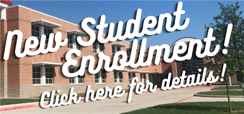 New Student Enrollment Graphic Link