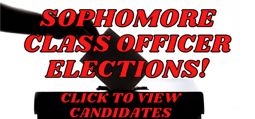 Sophomore Class Officer Election Graphic
