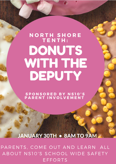 Donuts with the Deputy