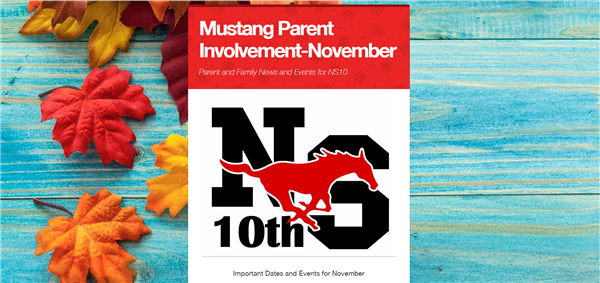 November NS10 Family Newsletter