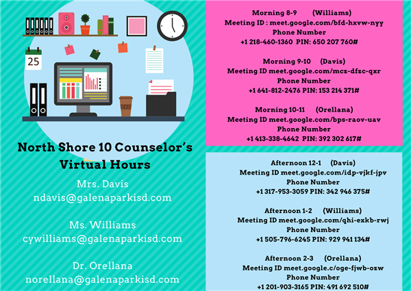 Counselors / Counselors Office Hours