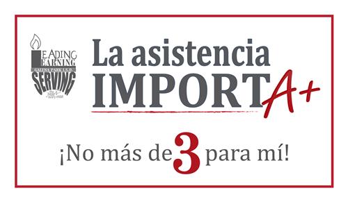 la asistencia import