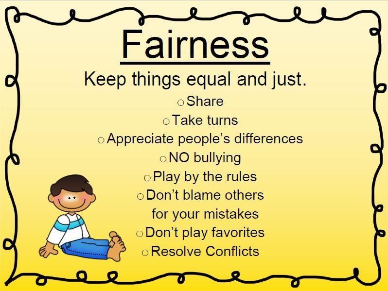 What is Fairness?