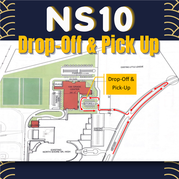Dropoff and Pickup Graphic