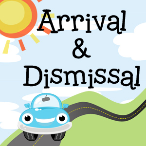 arrival and dismissal graphic