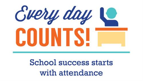 Every Day Counts?  School Success starts with attendance