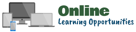 Online Learning Opportunities Heading